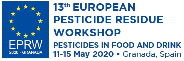 13th European Pesticide Residue Workshop. EPRW May 2020. Granada, Spain